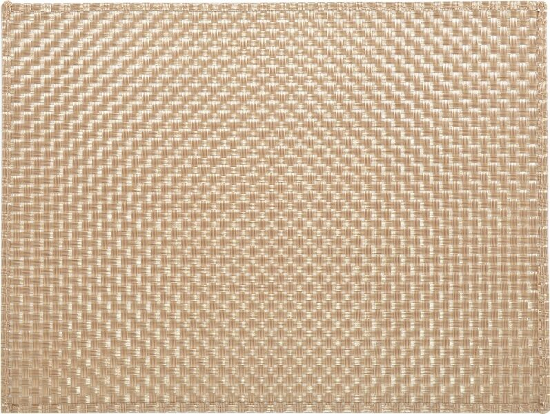 Everyday Home Gold Woven Vinyl Placemat Table Mat By
