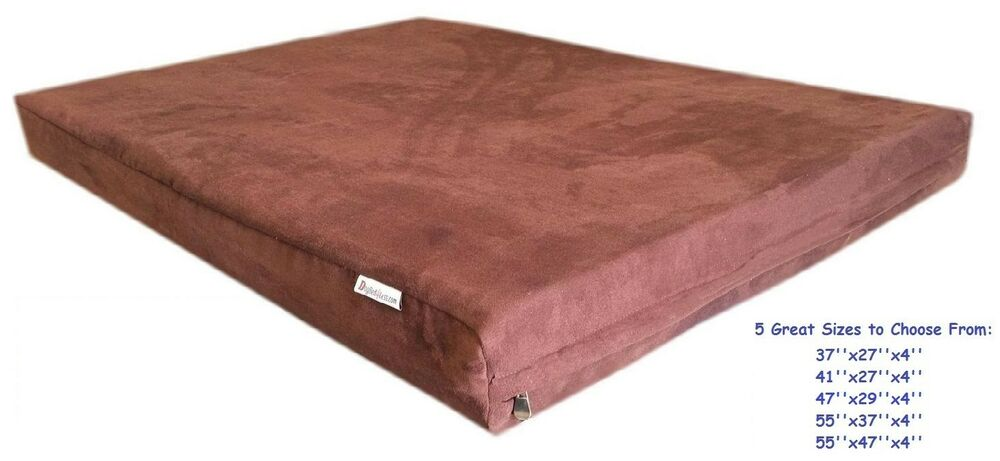 Book Cover Material Xl : S m l xl brown micro suede fabric washable comfortable dog