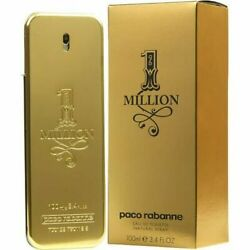 Kyпить 1 One Million by Paco Rabanne 3.3 / 3.4 oz Cologne for Men New In Box на еВаy.соm