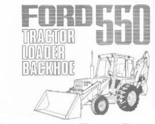 ford 555 backhoe parts list