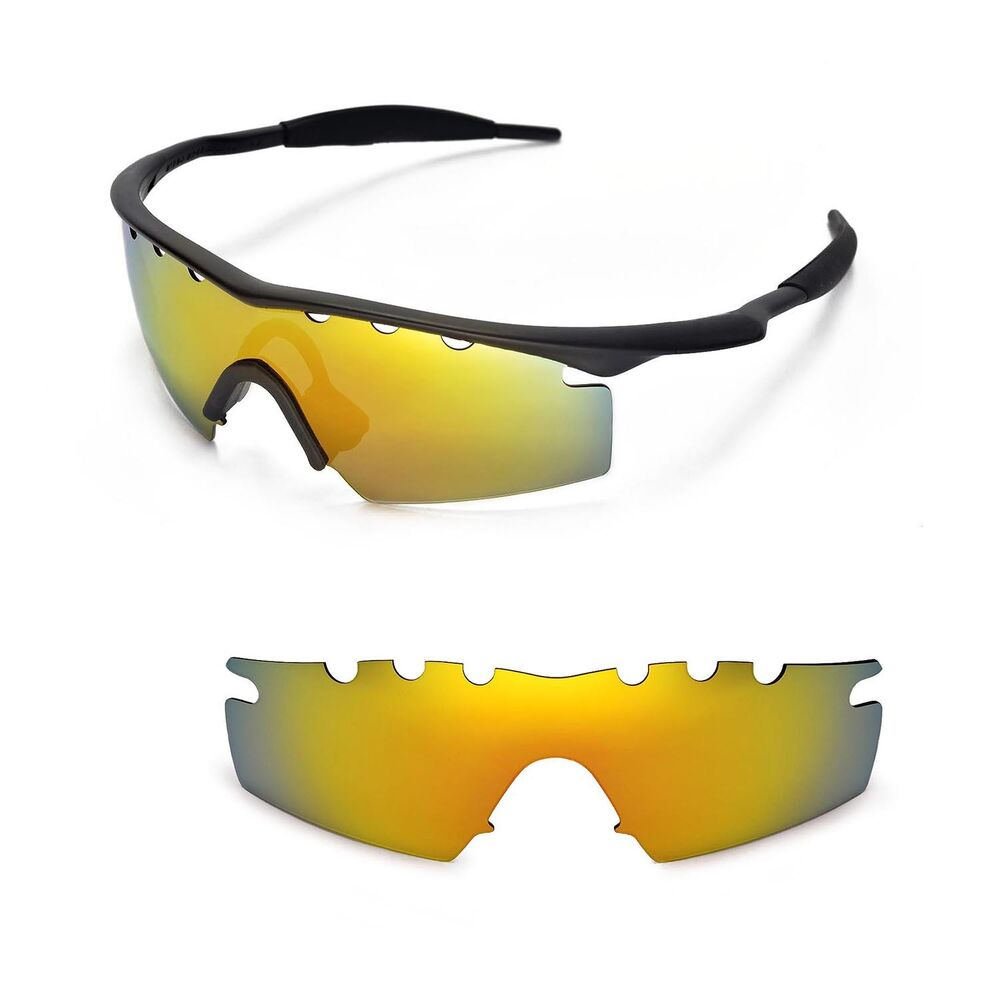 New Wl Polarized 24k Gold Vented Replacement Lenses For