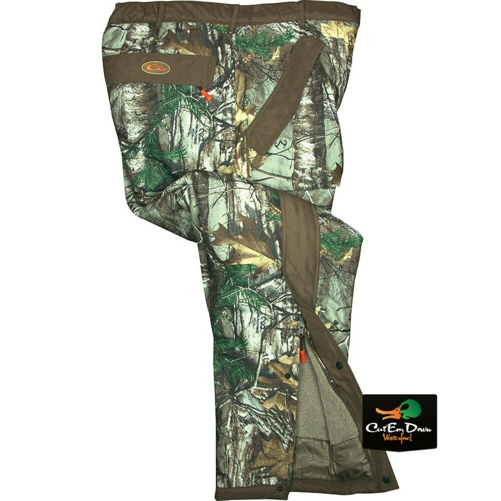 Drake waterfowl non typical storm pants sherpa fleece for Realtree camo flannel shirt