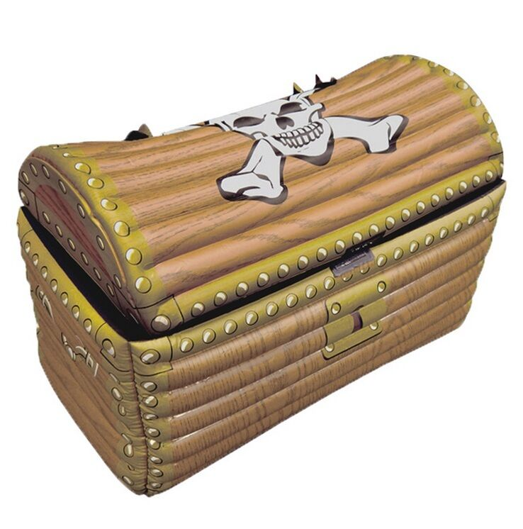 Toy Treasure Chest Beach : Inflatable pirate treasure chest drinks cooler theme fancy