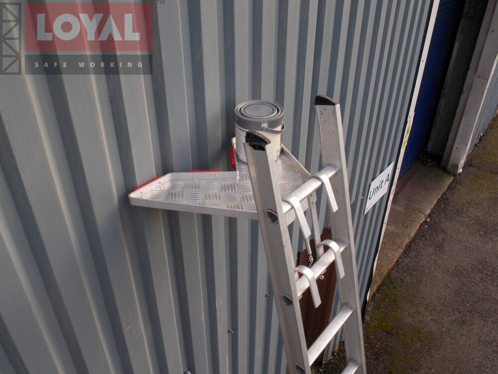 Universal Jacks On Ladders : Universal ladder stand off stay v shape tray quick fit