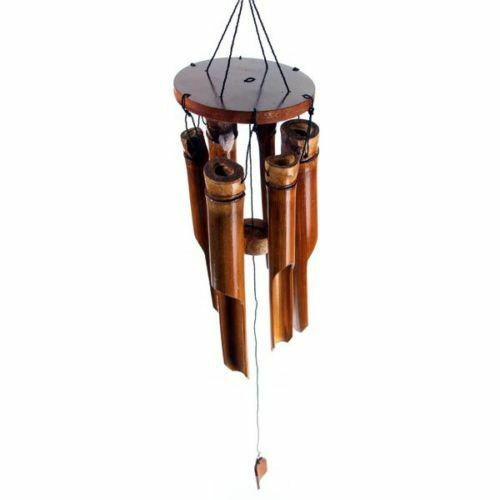 NEW WOODEN BAMBOO WINDCHIME OUTDOOR GARDEN CHIMES CH11