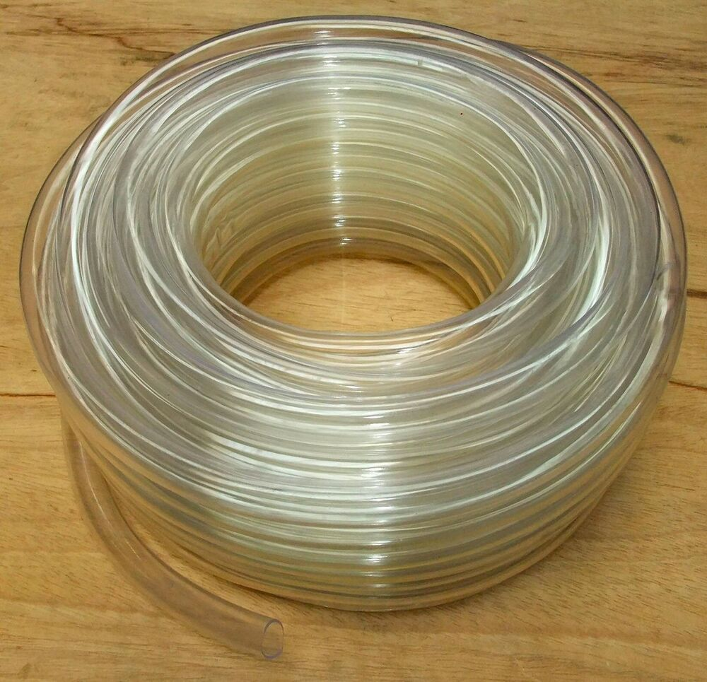 Clear pvc tubing hose pipe fish pond air tube flexible