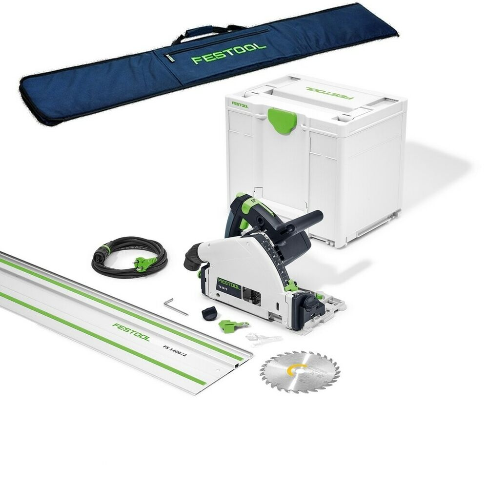 festool tauchs ge ts 55 rq plus 561579 f hrungsschiene tasche systainer ebay. Black Bedroom Furniture Sets. Home Design Ideas