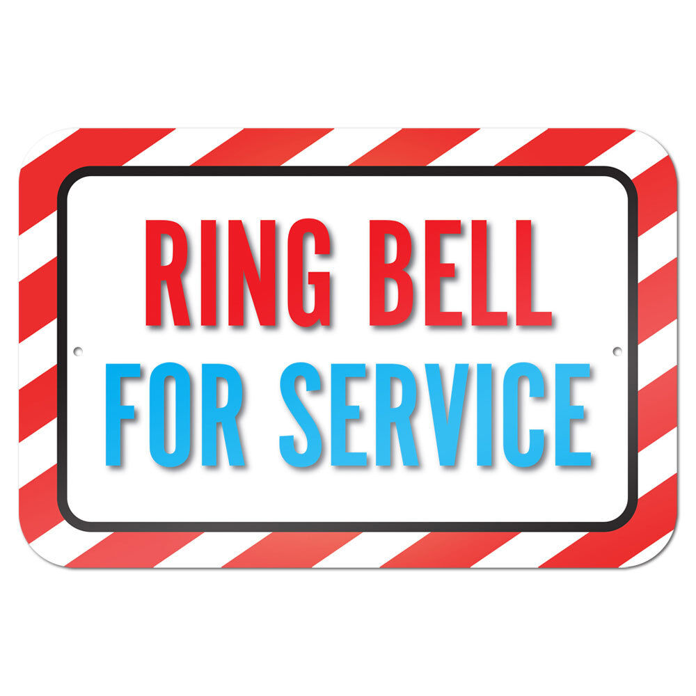 "Ring Bell For Service 9"" X 6"" Metal Sign  Ebay. Pjp Signs. Used Hospital Signs. Moose Signs Of Stroke. Pathogenesis Signs. Honey Signs Of Stroke. Posterior Circulation Signs Of Stroke. Public Park Signs Of Stroke. Bell Signs"