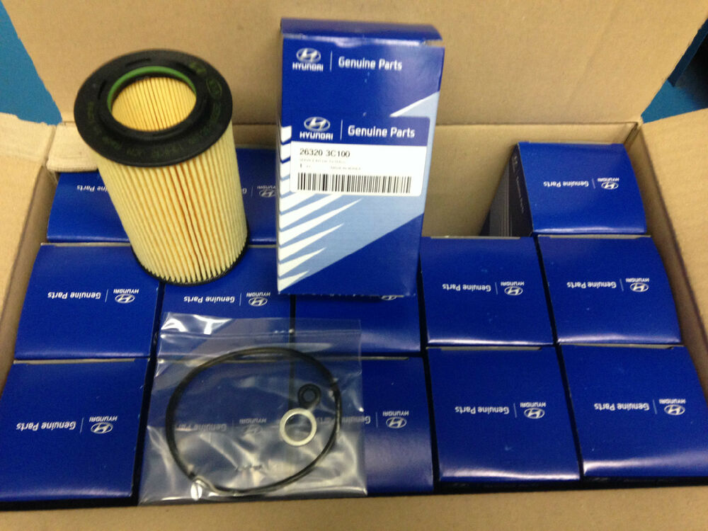 10 Pcs Hyundai Genuine Oem Oil Filter Kit 263203c30a