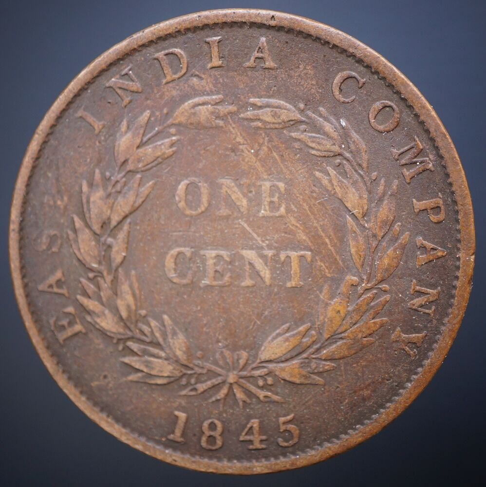 1845 one cent - 1847 Braided Hair Liberty Head Large Cents - USA