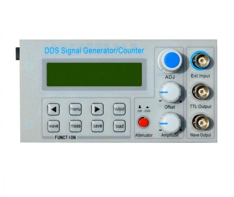 Panel Mount Frequency Counter : Mhz panel dds function signal generator frequency