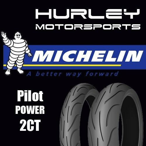 michelin pilot power 2ct motorcycle tire set 120 70zr 17. Black Bedroom Furniture Sets. Home Design Ideas