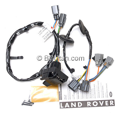 genuine land rover lr4 tow hitch trailer wiring wire harness electric vplat0013 ebay