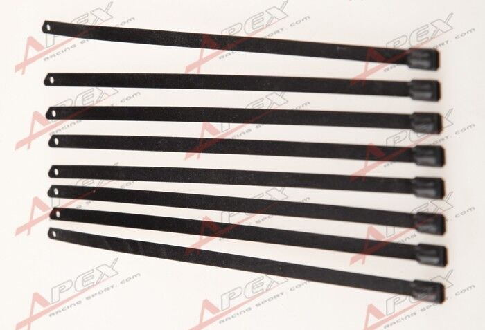 Pc quot stainless steel wire cable ties long for exhaust