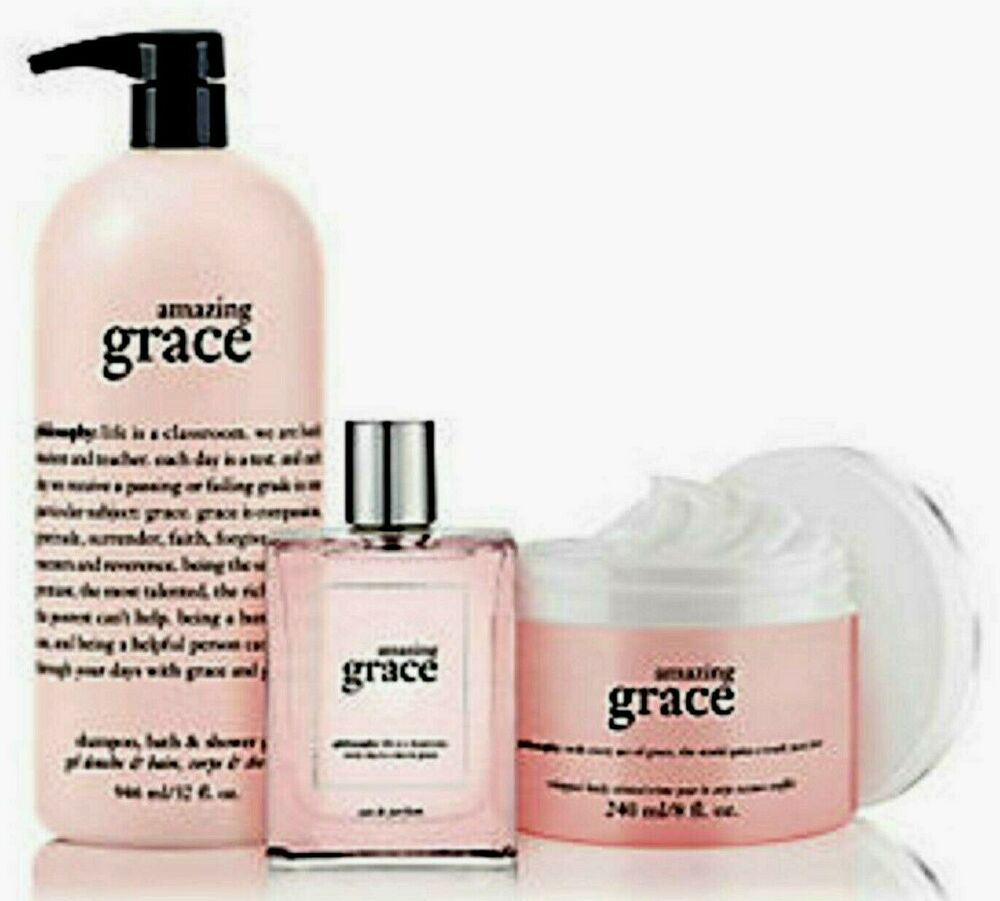 Amazing Grace: Philosophy AMAZING GRACE SHOWER GEL 32oz -EDT SPRAY 4oz