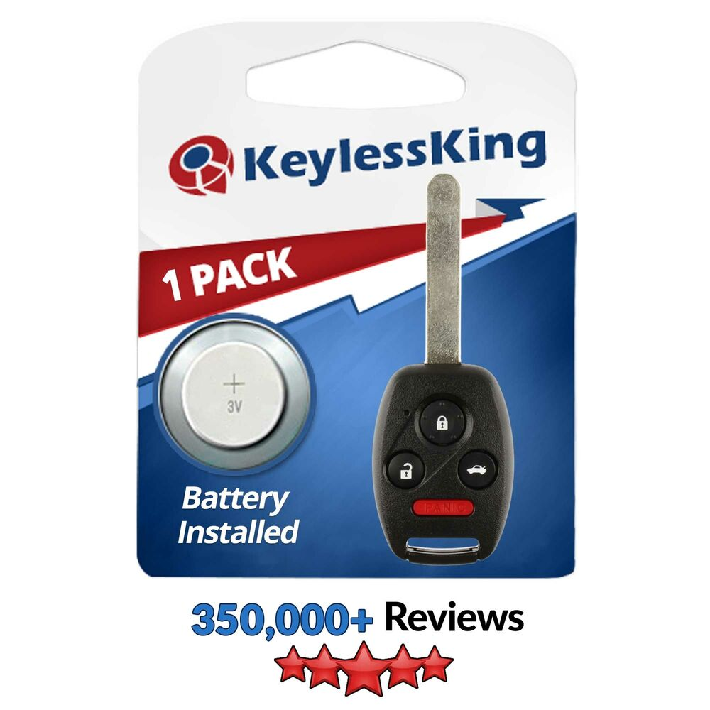 Honda Keyless Remote Battery Replacement Autos Post