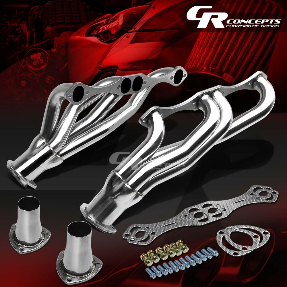 STAINLESS CLIPSTER HEADER MANIFOLD/EXHAUST FOR NOVA IMPALA