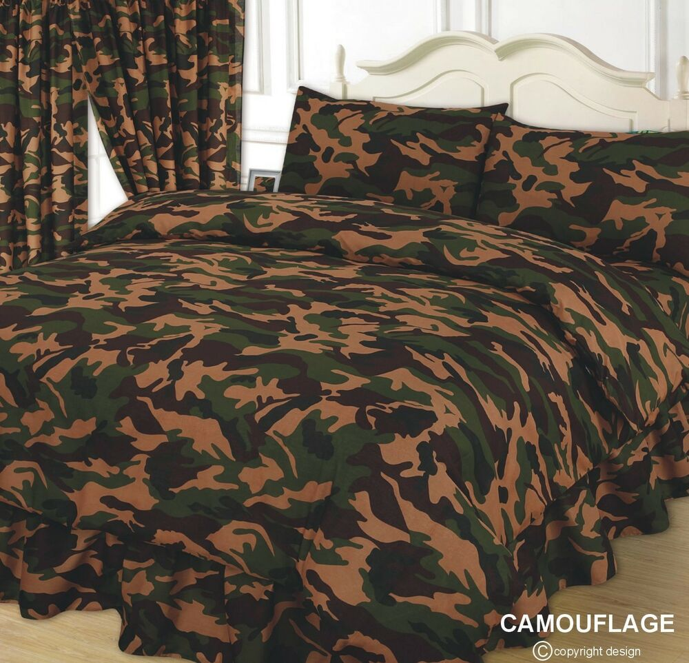 Army Bedding Double