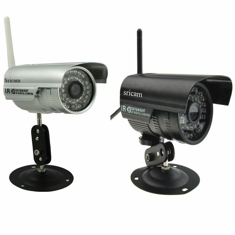 Hd Wireless Ip Security Camera Ir P2p Surveillance System Ddns Wifi Outdoor Ebay