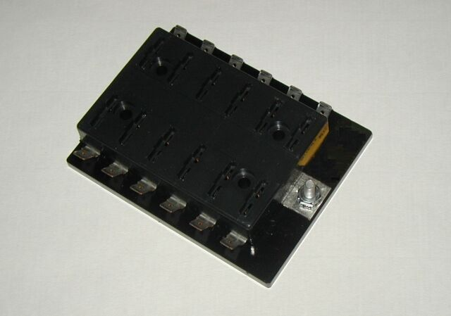 12 fuse panel without grounds uses ato  atc fuses hot rod atc fuse block ac fuse box