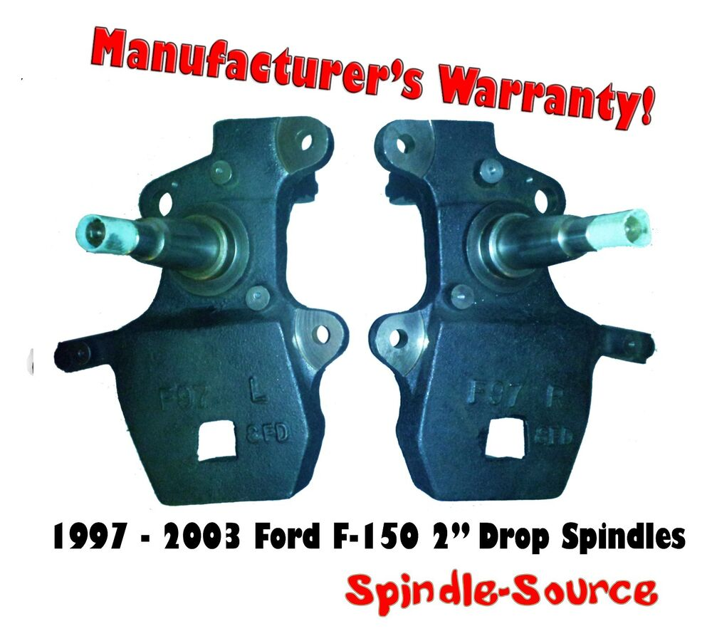 F150 Drop Spindles : Ford f quot inch drop spindles