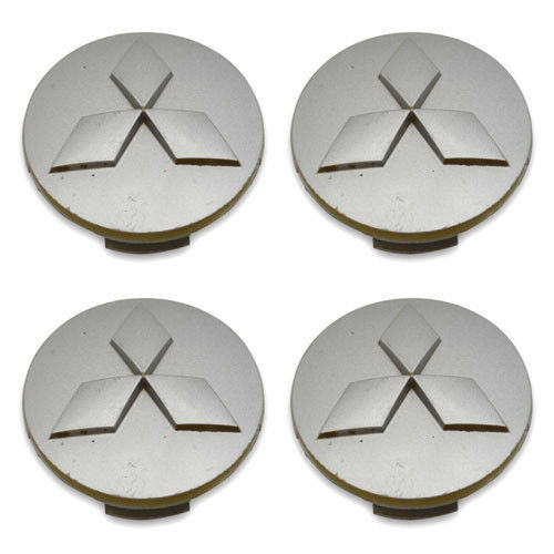 SET OF 4- FREE SHIPPING Mitsubishi Lancer MR554097 Wheel Center Caps Hubcaps | eBay
