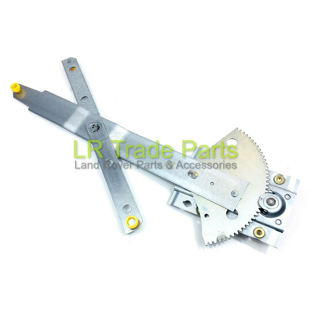 Land rover defender new front rhs manual window regulator for Window mechanism