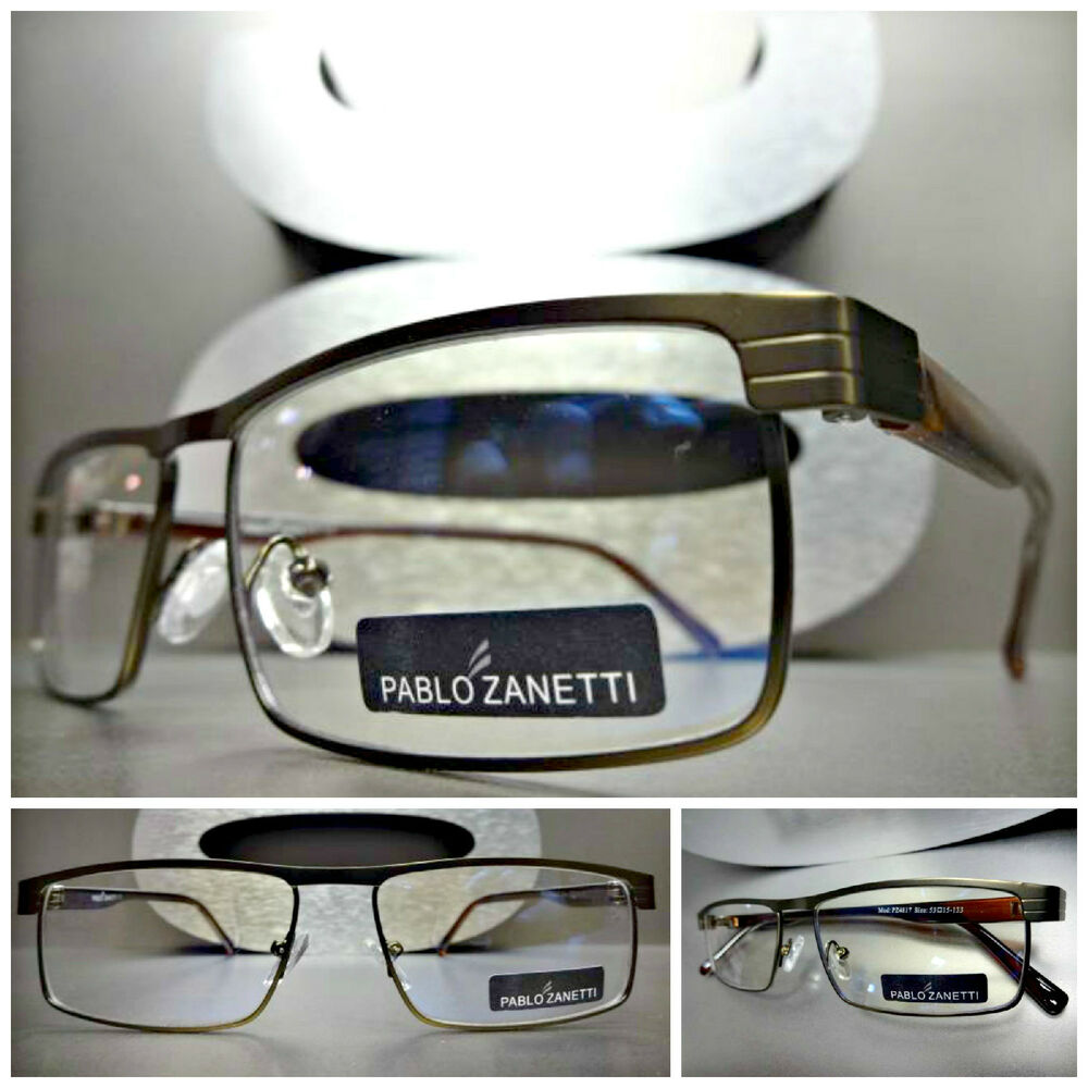 Mens Women CONTEMPORARY MODERN Style Clear Lens EYE ...