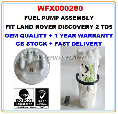 Land Rover Discovery 1996 For Sale 128435en: LAND ROVER DISCOVERY II 2.5 TD5 INTANK FUEL PUMP ASSEMBLY