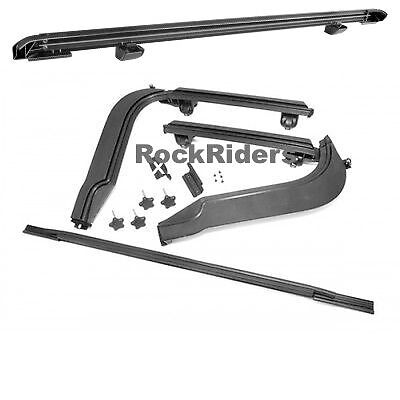 Jeep Wrangler Replacement Soft Top >> 1997-2006 Jeep Wrangler & Unlimited Frameless Soft Top Hardware Install Kit | eBay