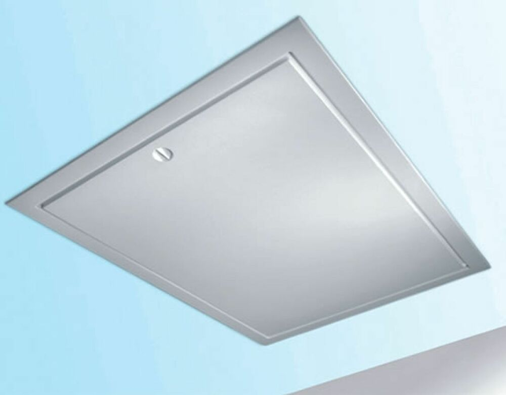 Attic Access Doors And Panels : Highly insulated loft hatch door attic access panel hinge