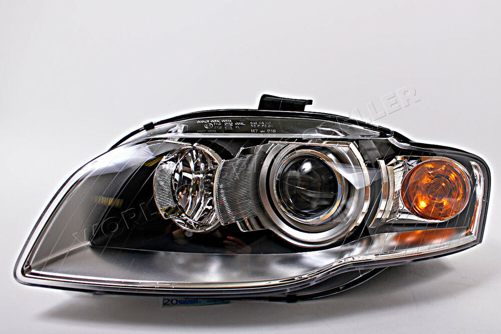 Audi A4 B7 2006 2008 Bi Xenon Headlight Front Lamp Left