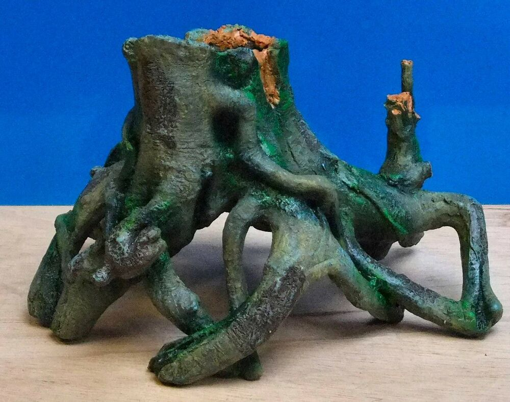 tree root stump large aquarium ornament fish tank bowl