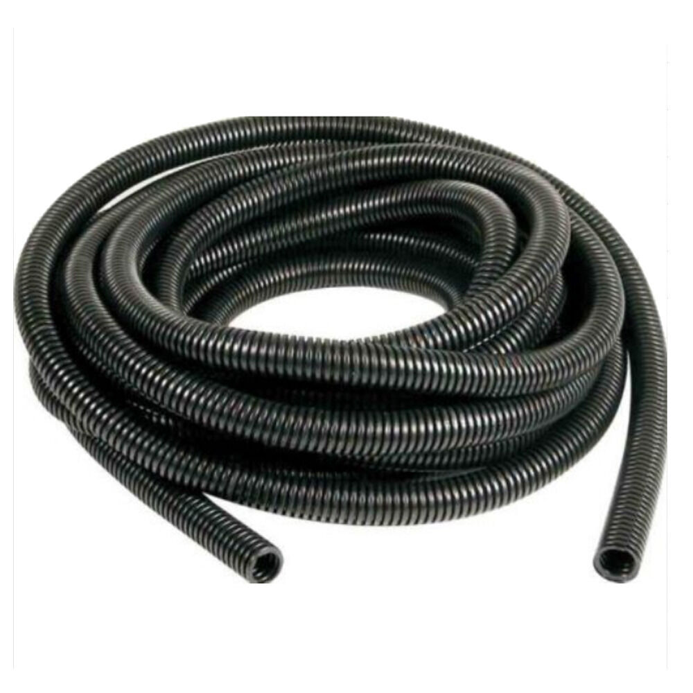 Flexible Wire Tubing : Feet quot black split loom wire flexible tubing