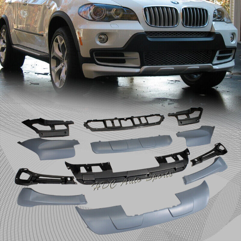 For 2007-2010 BMW X5 E70 PU Aerodynamic Front + Rear