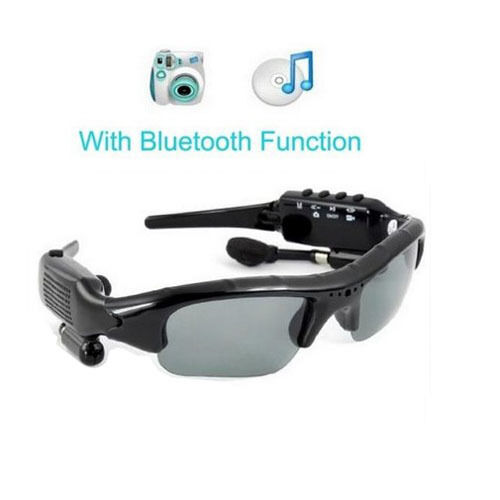 sunglasses bluetooth 3 0 digital 8gb headset headfree for camera mp3 smartphone ebay. Black Bedroom Furniture Sets. Home Design Ideas