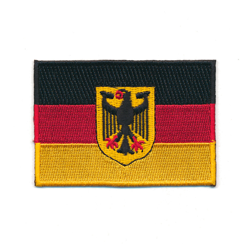 40 x 25 mm deutschland flagge berlin germany flag patch aufn her aufb gler 0625 ebay. Black Bedroom Furniture Sets. Home Design Ideas