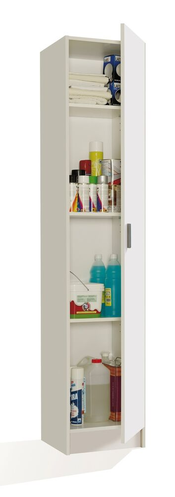 tall storage shelves narrow white storage shoe utility bookcase cupboard 27066