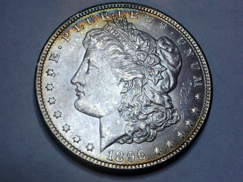 1896 Morgan Silver Dollar From 50 Year Old Collection Ebay