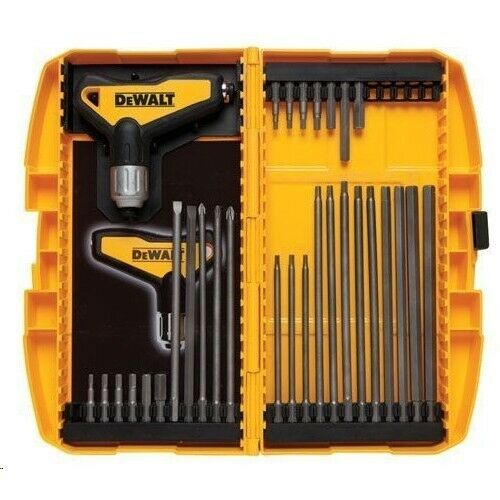 dewalt 31 piece ratcheting t handle hex key set 20448 ebay. Black Bedroom Furniture Sets. Home Design Ideas