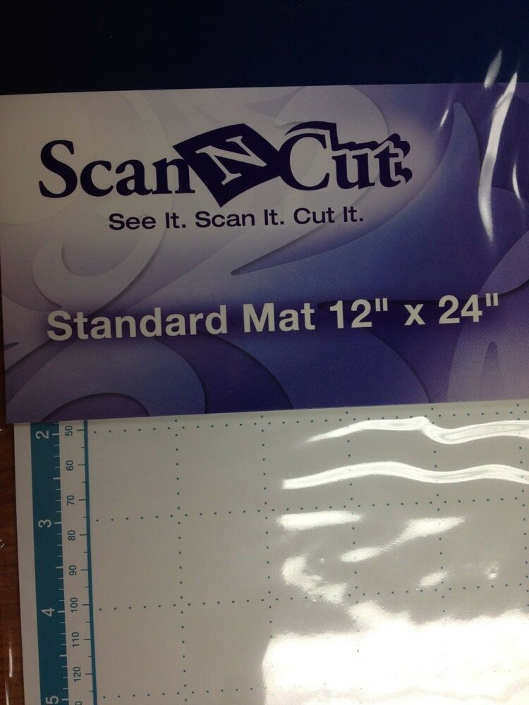Brother Scan N Cut Camatf24 Standard Mat 12 Quot X 24 Quot Ebay
