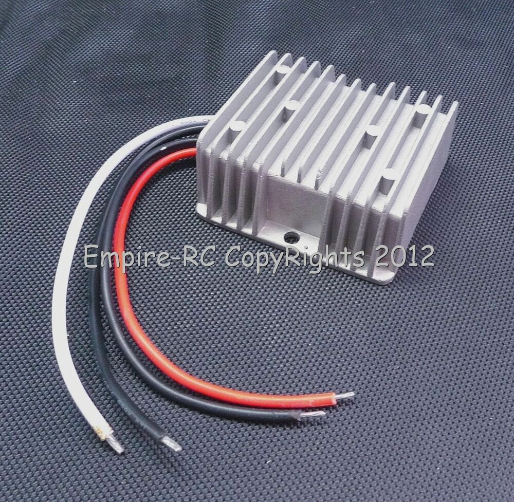 Waterproof dc 12v 24v to 6v 30a 180w step down for Waterproof dc motor 12v