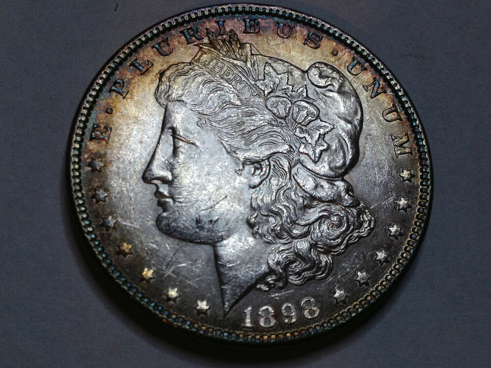 1898 Morgan Silver Dollar From 50 Year Old Collection Ebay
