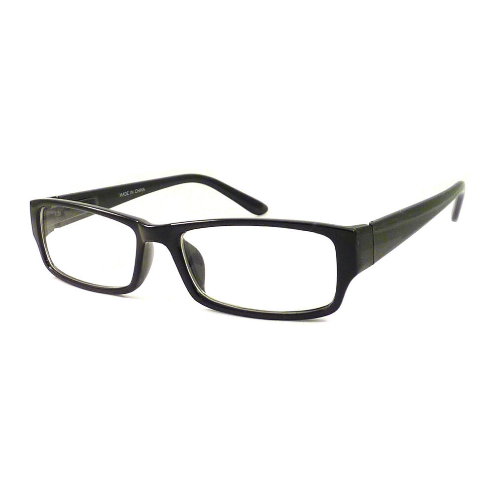 VINTAGE Nerd Rectangular Frame Men Women Eyewear Clear ...