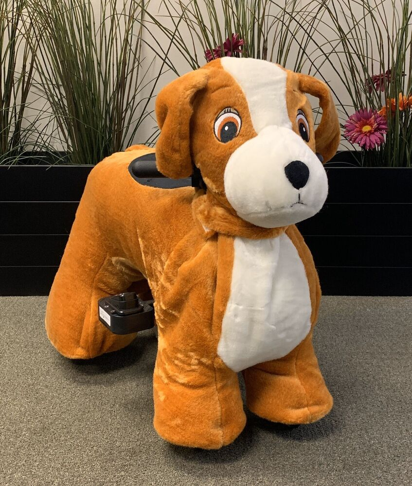 Battery Operated Motorized Ride On Toys For Kids Dog Ebay
