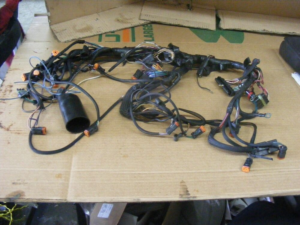 johnson evinrude 200 225 hp engine cable motor wire outboard wiring 586309 ebay