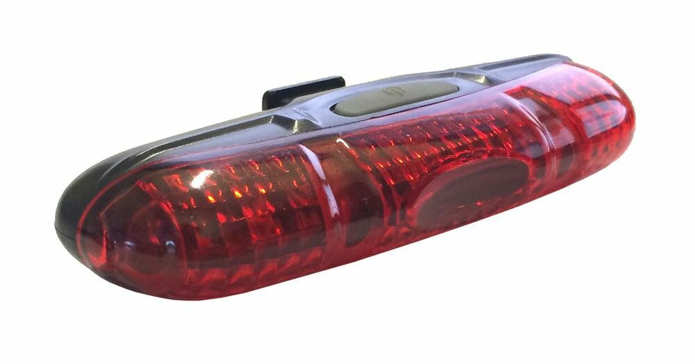 Rear LED Bike Tail Light ETC Tail Bright 5 Cycling Light ...