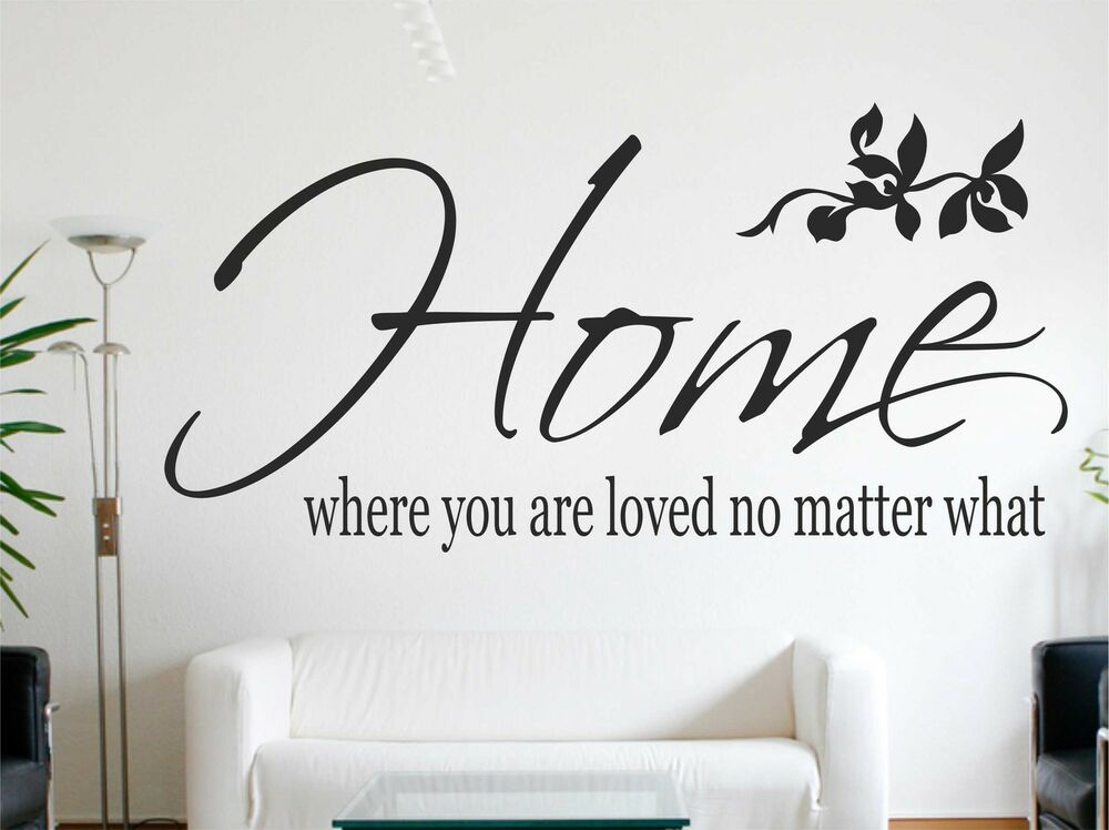 You Are Loved You Are Important And You Matter Pictures: Home, Where You Are Loved No Matter What Wall Quote Wall