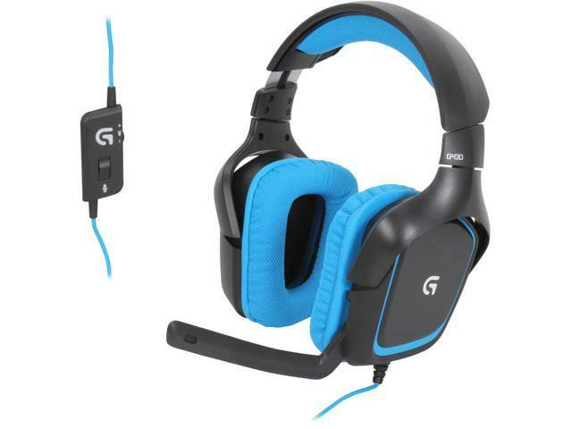 Logitech G430 USB Connector Circumaural Surround Sound