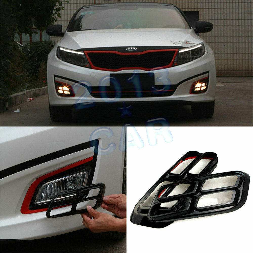 for kia k5 optima 2014 4 eyes fog drl driving light lamp. Black Bedroom Furniture Sets. Home Design Ideas